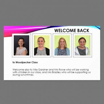 Woodpecker Class Welcome – Sep 20