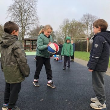 Basketball with Starlings Class