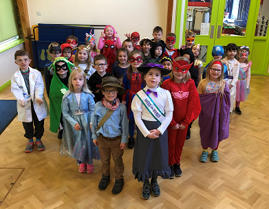 Superheroes for Comic Relief
